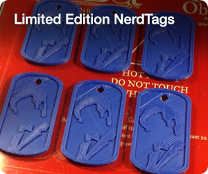 Limited Edition NerdTags